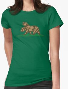 New Bears of the Californian Republic Womens Fitted T-Shirt