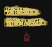 Fire can not Kill a Dragon by MissKellyEwing