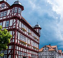 Half-timbered Buildings near Kassel by Michael Brewer