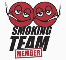 Smoking Team Member Smileys by Style-O-Mat