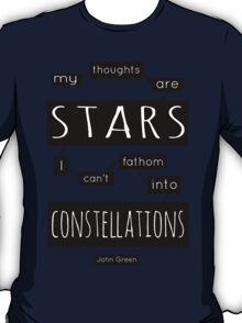 "TFiOS: ""My Thoughts Are Stars"" T-Shirt"