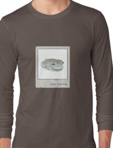 Green Tree Frog Polaroid Long Sleeve T-Shirt