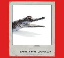 Fresh Water Crocodile Polaroid Kids Clothes