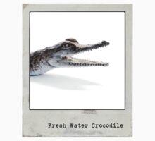 Fresh Water Crocodile Polaroid One Piece - Short Sleeve