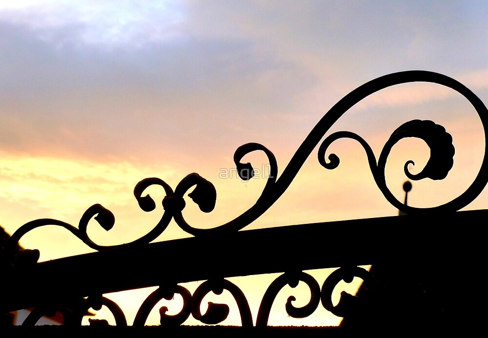 Monastery Gate Silhouette by ©The Creative  Minds