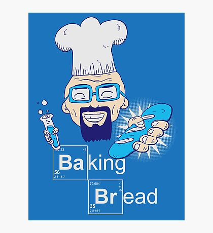 Baking Bread Photographic Print