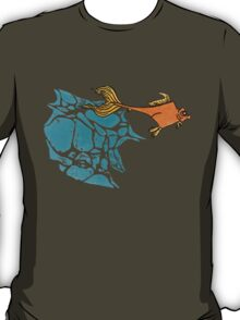 Goldfish Illustration Print T-Shirt