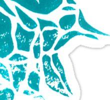 Goldfish Illustration Print Sticker