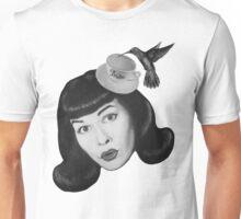 Bettie Teacup Page Unisex T-Shirt