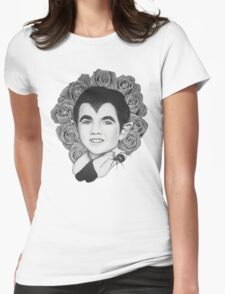Eddie Rose Munster  Womens Fitted T-Shirt
