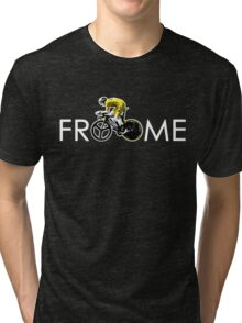 Chris Froome Tour de France 100th Winner 2013 Tri-blend T-Shirt