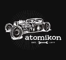 Atomikon - hand sketch version by Mark Will