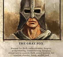 Grey Fox Wanted Poster by marylandxterp