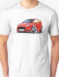 Ford Fiesta (Mk7) ST Red T-Shirt