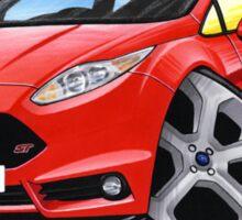 Ford Fiesta (Mk7) ST Red Sticker