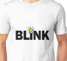 Blink w. star Unisex T-Shirt