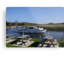 Norfolk Broads Cruiser Metal Print