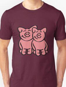 Cute Pigs T-Shirt