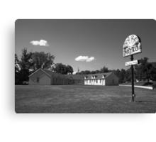 Route 66 - Sunset Motel Canvas Print