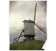 belgium windmill Poster