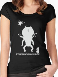 Adventure Time - It Came from the Nightosphere Women's Fitted Scoop T-Shirt