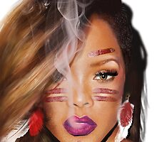 Native Rihanna  by badgalmiriam