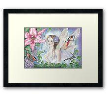 Butterfly Faerie Framed Print