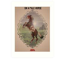 On a Pale Horse Art Print