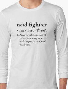 Nerdfighter? Long Sleeve T-Shirt