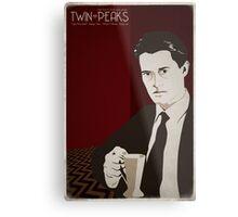 Twin Peaks - Dale Cooper Metal Print