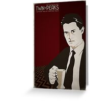 Twin Peaks - Dale Cooper Greeting Card
