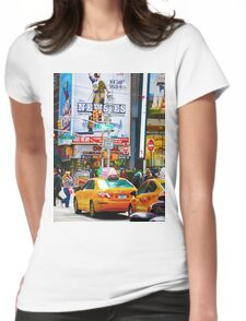 New York Womens Fitted T-Shirt