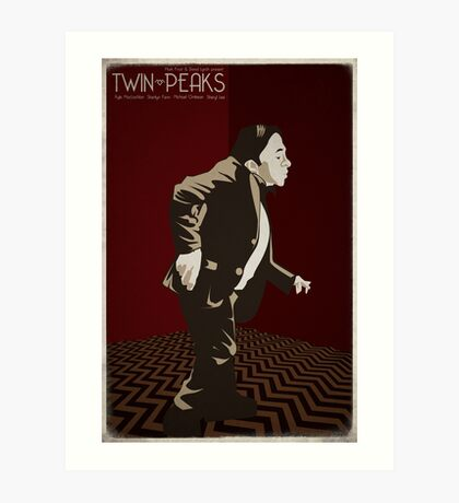 Twin Peaks - Man From Another Place Art Print