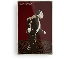Twin Peaks - Man From Another Place Metal Print