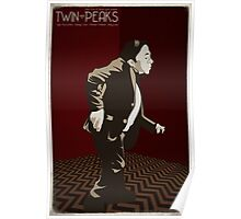 Twin Peaks - Man From Another Place Poster