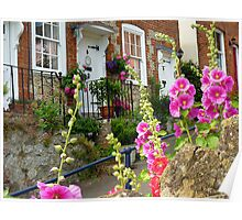 Kentish Cottages Poster