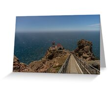 Lighthouse - Point Reyes Greeting Card