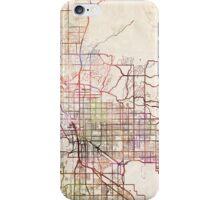 Tucson map iPhone Case/Skin