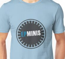 EPMINIS Officially Unofficial logo (in BLUE) Unisex T-Shirt
