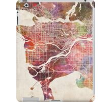Vancouver map iPad Case/Skin