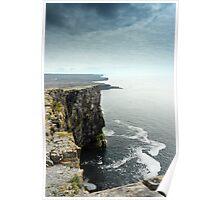 Cliffs at Dun Aengus, Inishmore Poster