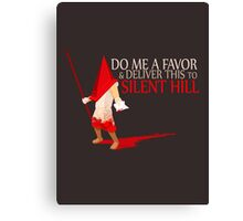 Silent Hill Delivery Canvas Print