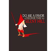 Silent Hill Delivery Photographic Print