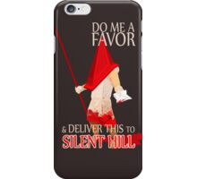 Silent Hill Delivery iPhone Case/Skin