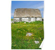 Derelict Cottage, Inishmore Poster