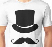 Gentleman Moustache T-shirt Unisex T-Shirt