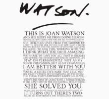 Joan Watson by Kiluvi