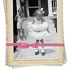That's How I Roll - Little Girl Rollerskating with Pillow Cushion - Novelty Girly Cards by traciv