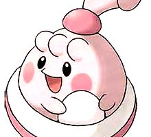 Happiny, Chancey baby by linwatchorn