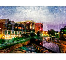 River Place, Greenville, SC Photographic Print